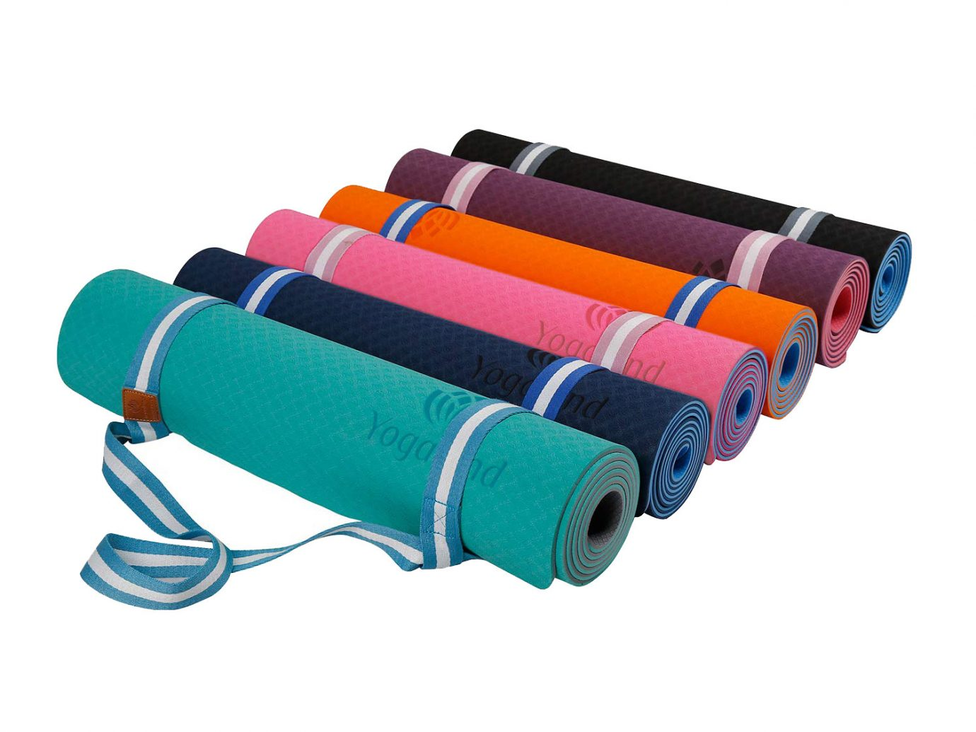 YOGALAND Premium Yoga Mat with Carrier Strap