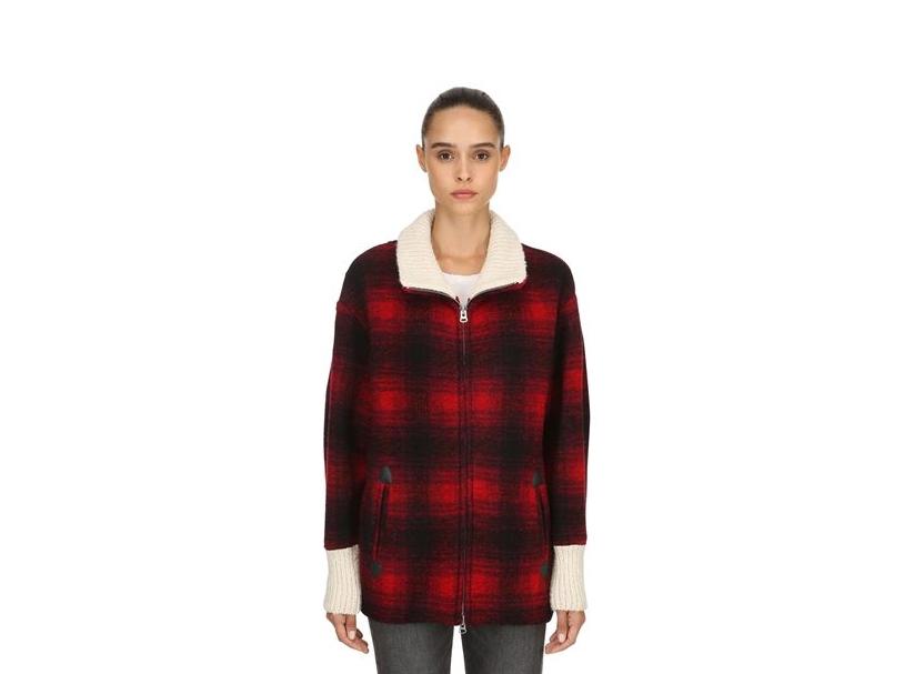 Isabel Marant Etoile Gimo Wool Coat