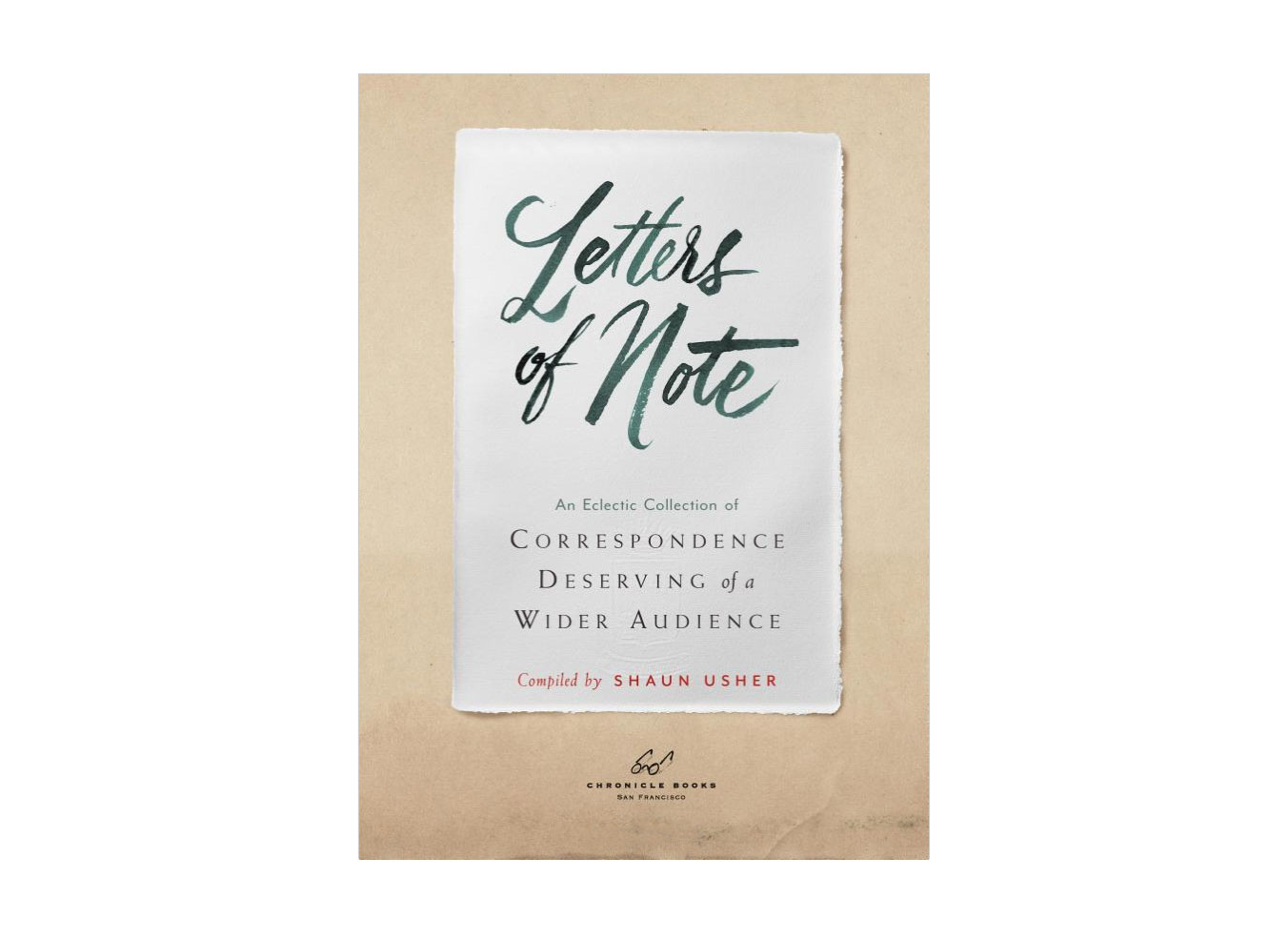 Buy Letters of Note: An Eclectic Collection of Correspondence Deserving of a Wider Audience on Amazon
