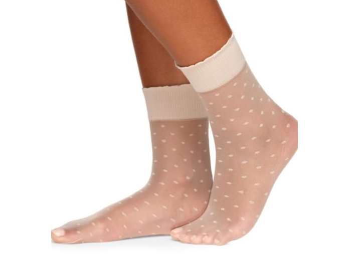 Berkshire Sheer Dot Anklet Socks