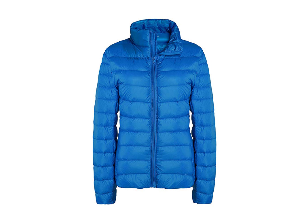 Women's Lightweight Packable Down Jacket