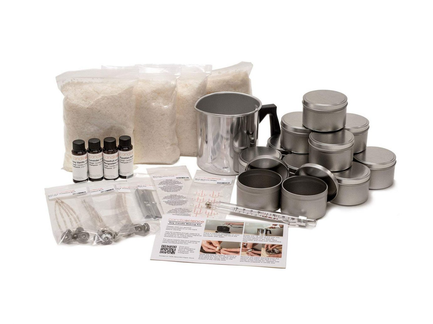 Buy CandleScience Soy Candle Making Starter Kit on Amazon