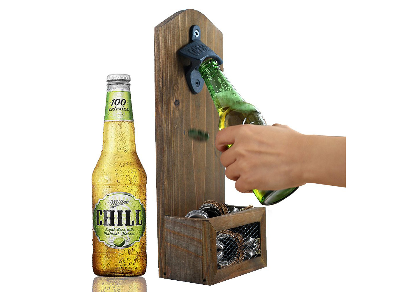 INART Vintage Wall Beer Opener