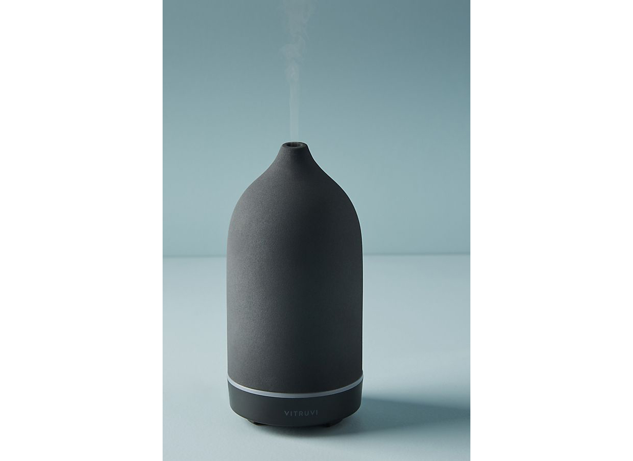 Vitruvi Black Stone Essential Oil Diffuser