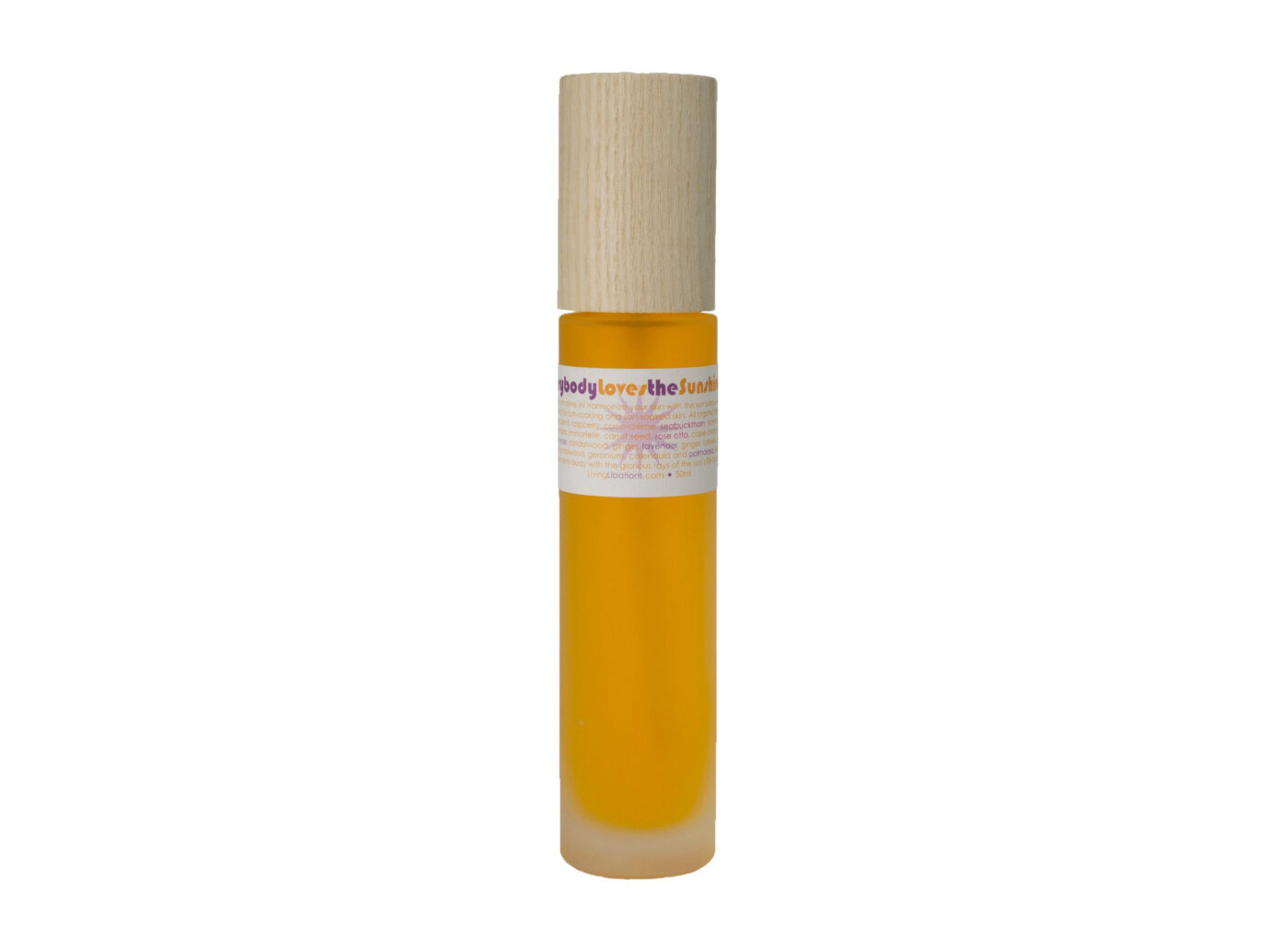 Living Libations Everybody Loves The Sunshine Body Oil