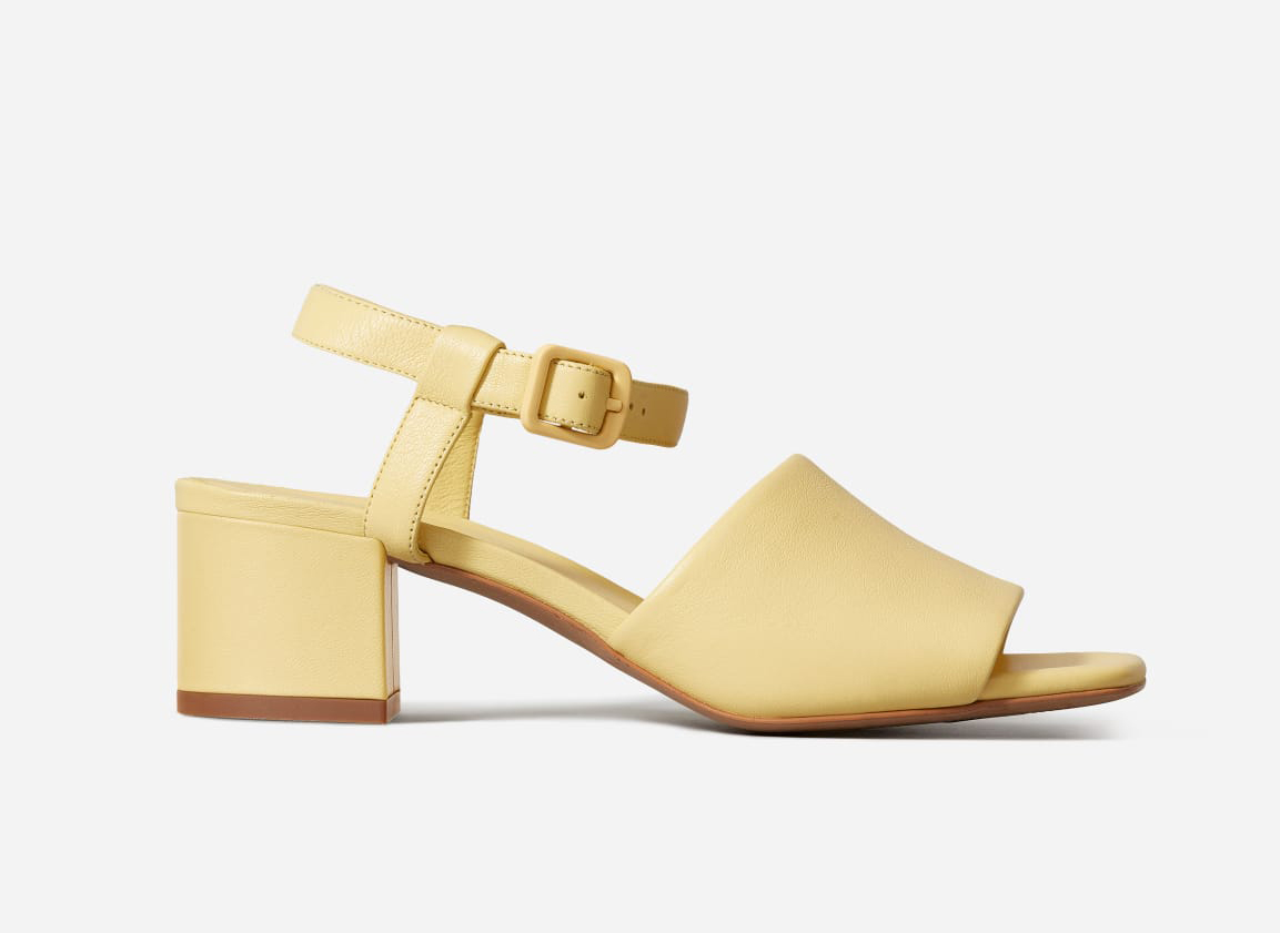 Everlane The Block Heel Sandal