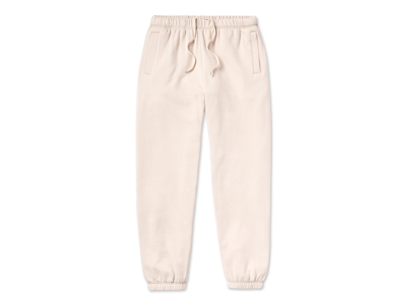 Entireworld Loop Back Sweatpants Cream Sweatpants
