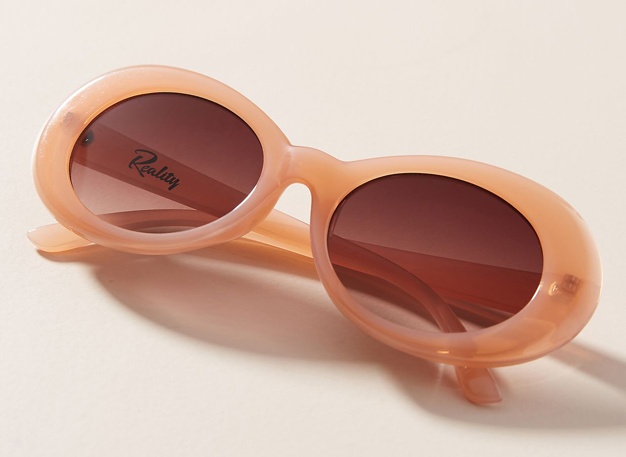 Festival of Summer Oval Sunglasses