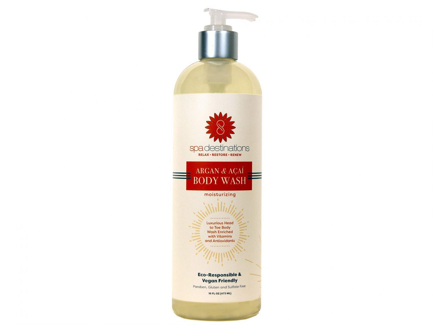 Spa Destinations Argan & Acai Moisturizing Body Wash