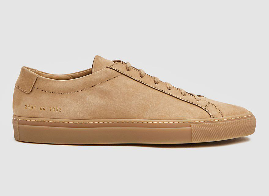 Common Projects Achilles Low Nubuck Sneakers