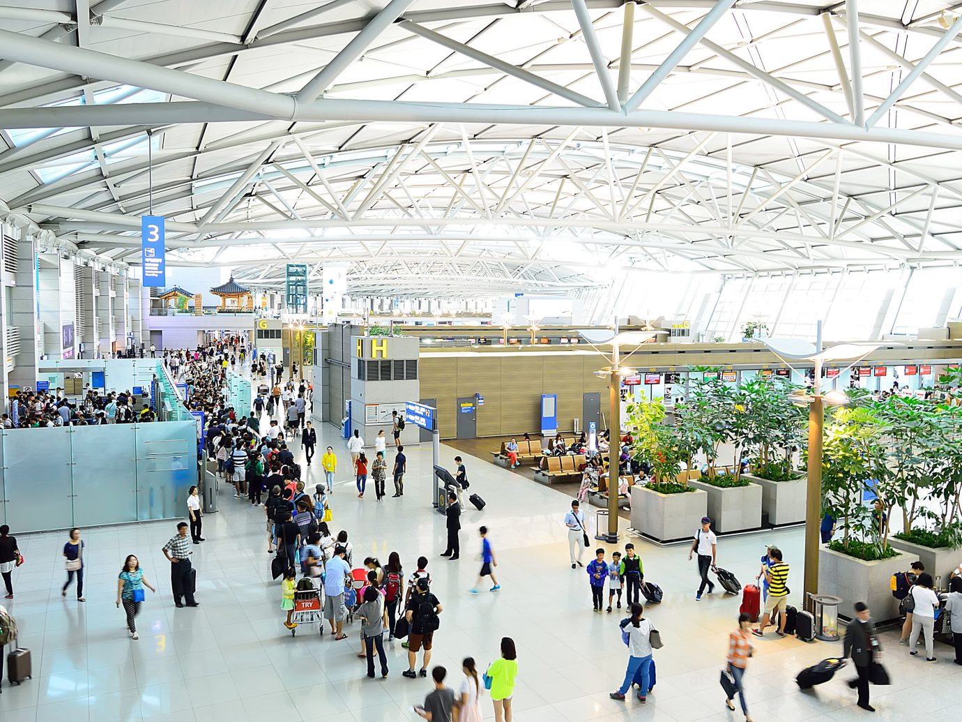 Offbeat Travel Tips indoor ceiling building shopping mall rink airport terminal airport group people ice rink retail public transport area several line