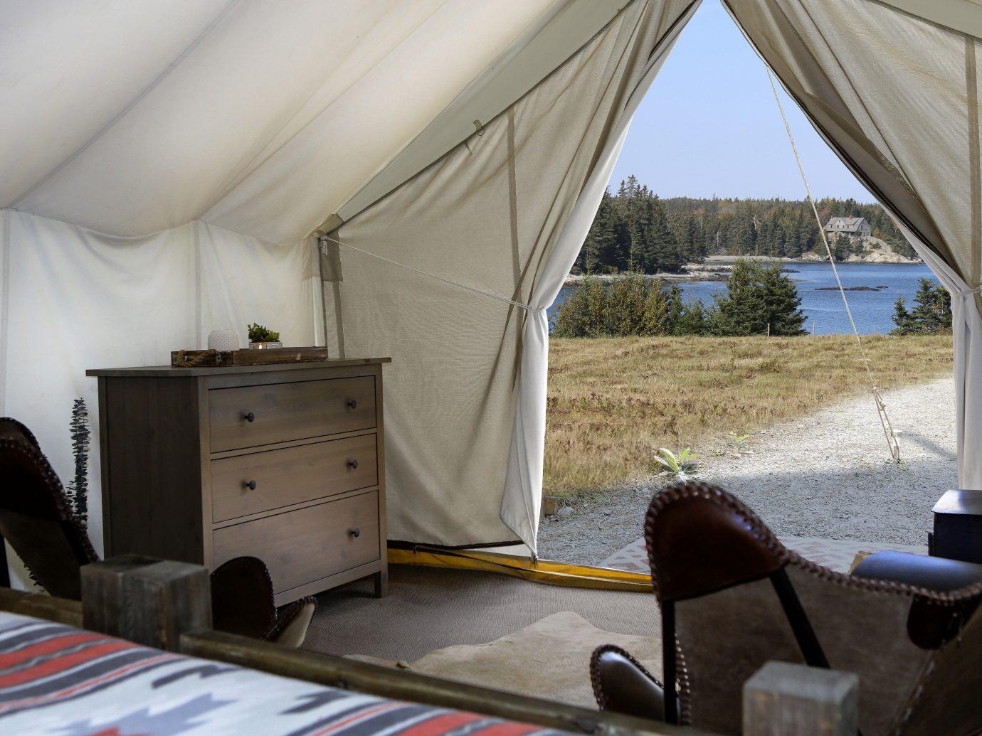 Glamping Outdoors + Adventure Weekend Getaways tent car vehicle window house