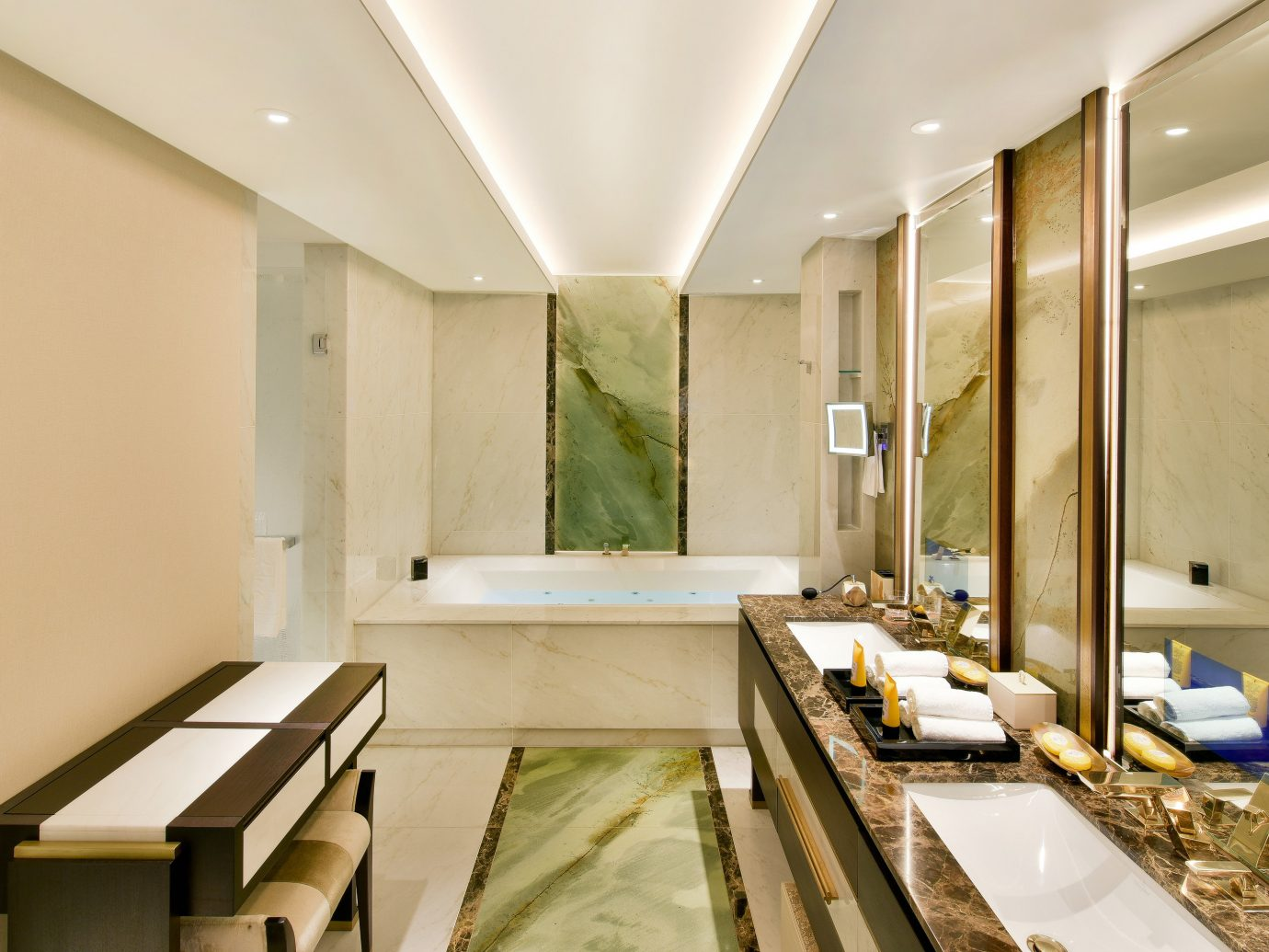 Hotels Luxury Travel indoor wall bathroom ceiling interior design counter sink Lobby interior designer daylighting