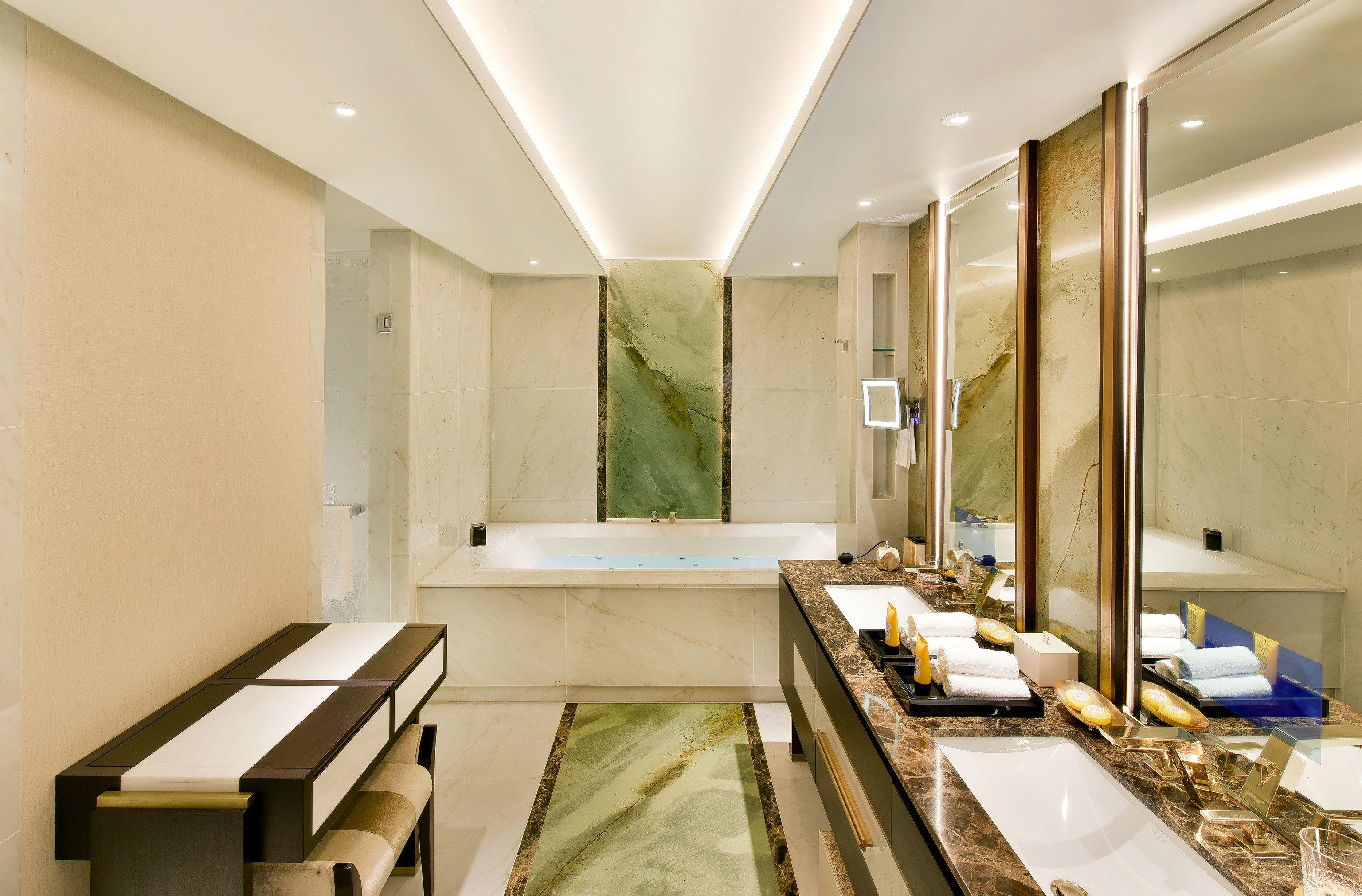 Hotels Luxury Travel indoor wall bathroom ceiling interior design counter sink Lobby interior designer daylighting