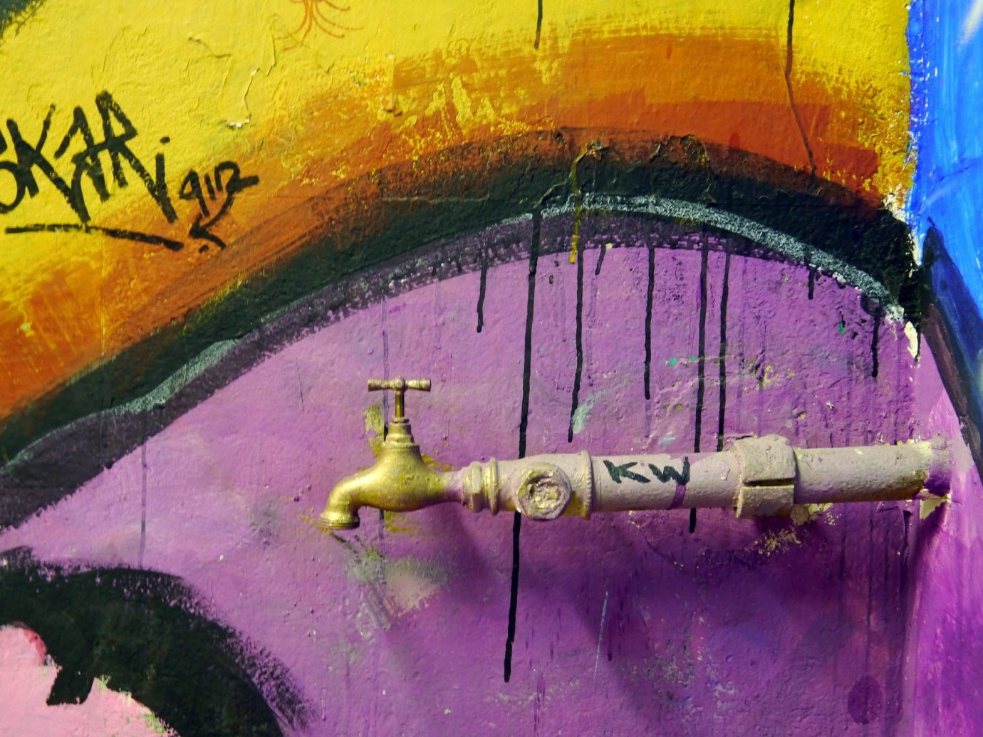 art City colorful graffiti street art Trip Ideas urban color decorated painted colored