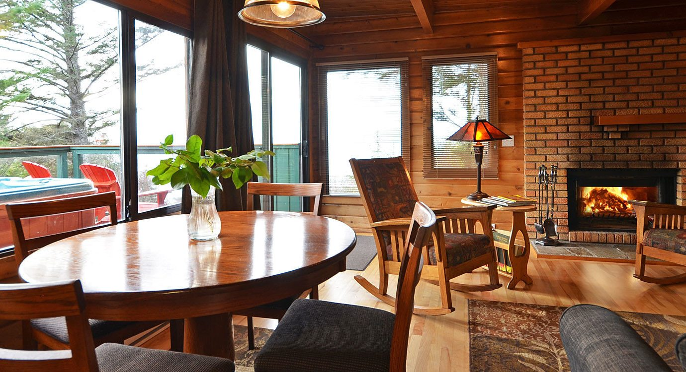 Boutique Hotels Fall Travel Hotels Outdoors + Adventure chair table floor indoor window room property Living living room real estate Dining dining room interior design home wood house estate area furniture