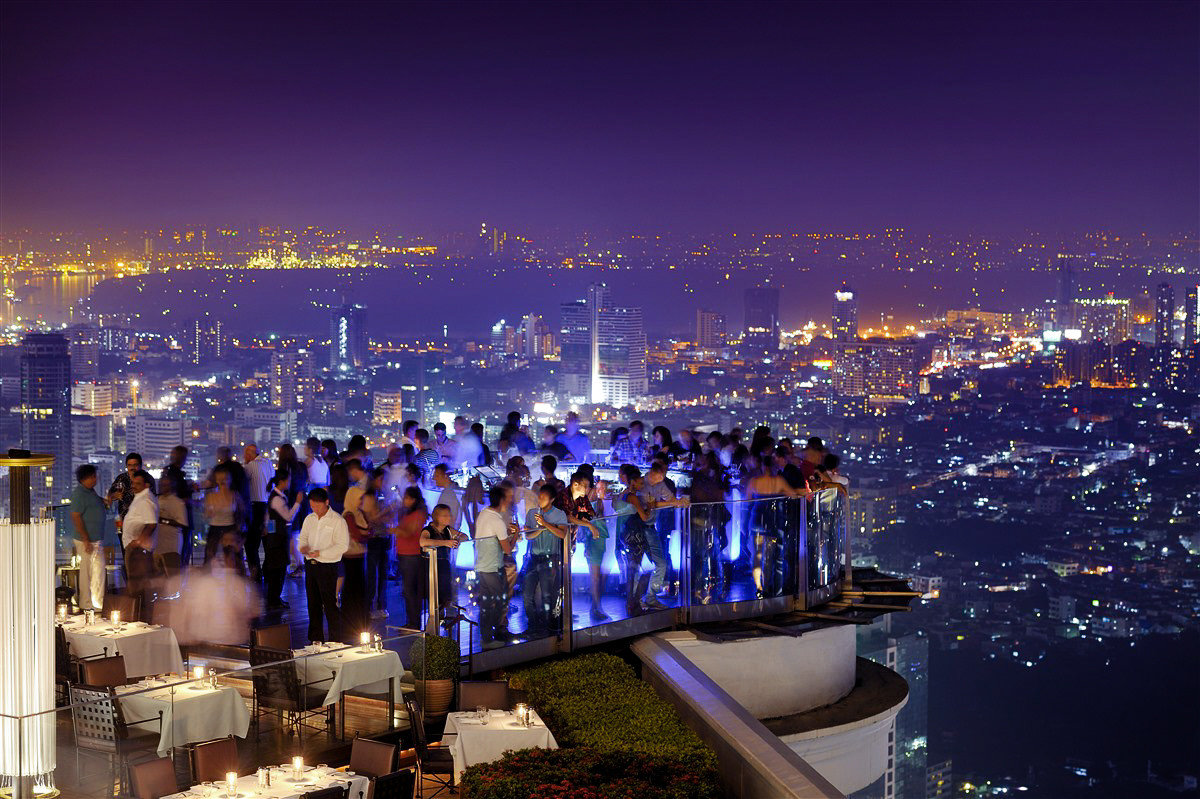 Rooftop of Siccoro at Lebua at State Tower