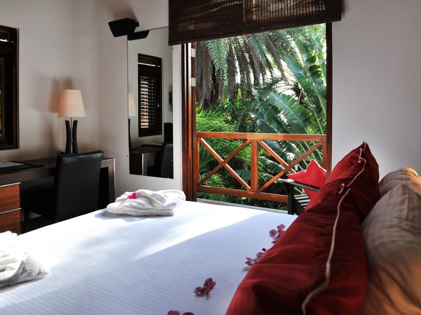 Bedroom Boutique Hotels Hip Hotels Lounge Luxury Modern Romantic Getaways Romantic Hotels Scenic views Suite Tropical indoor wall room property bed house home living room interior design cottage estate real estate Villa