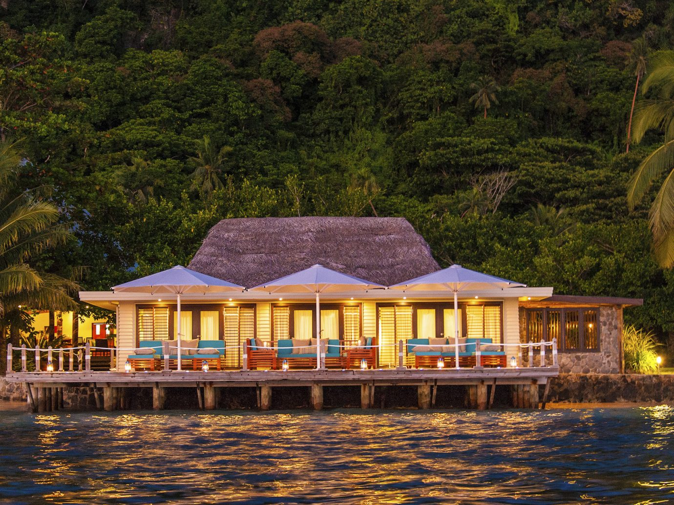 All-Inclusive Resorts Hotels Luxury Travel outdoor tree water house estate River boathouse Resort surrounded