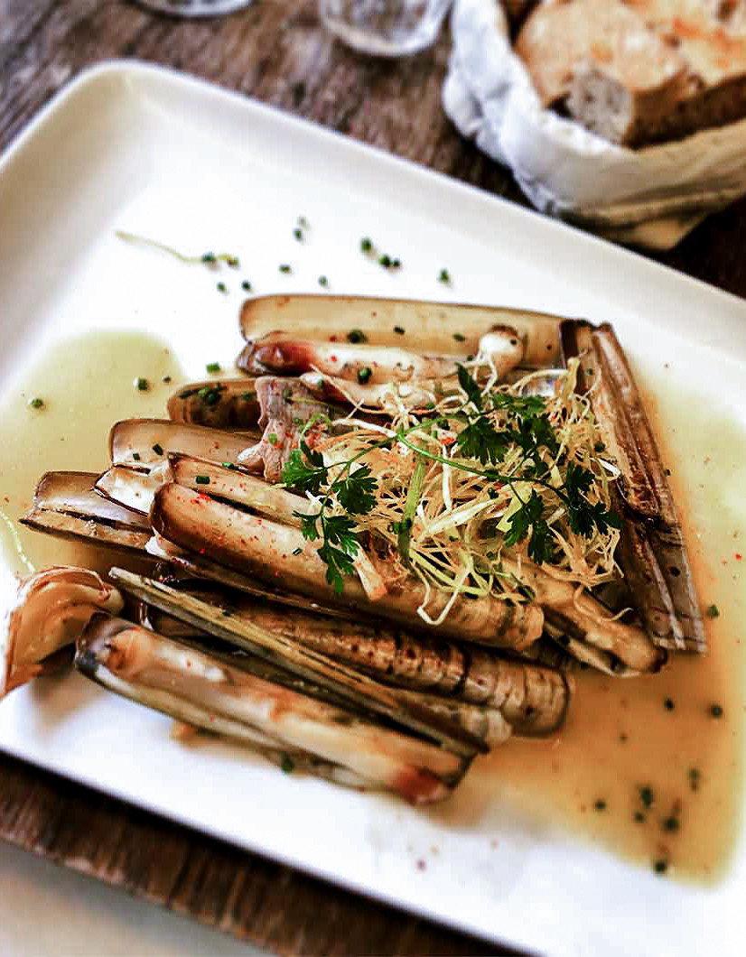 Food + Drink France Paris food plate dish animal source foods recipe meat meal square vegetable piece de resistance