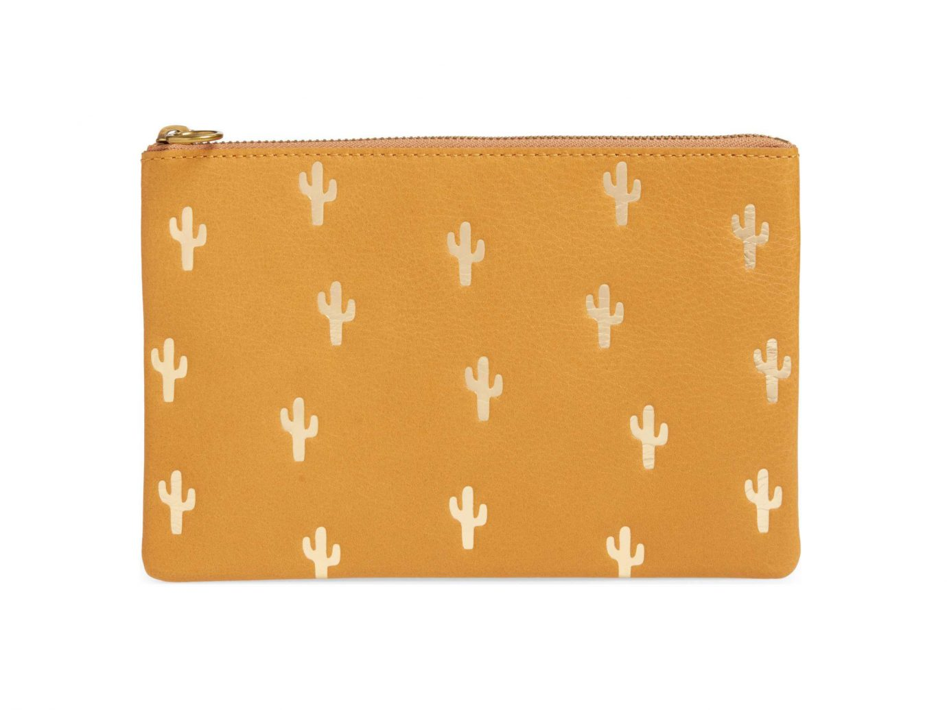 City Palm Springs Style + Design Travel Shop orange coin purse wristlet wallet pattern rectangle