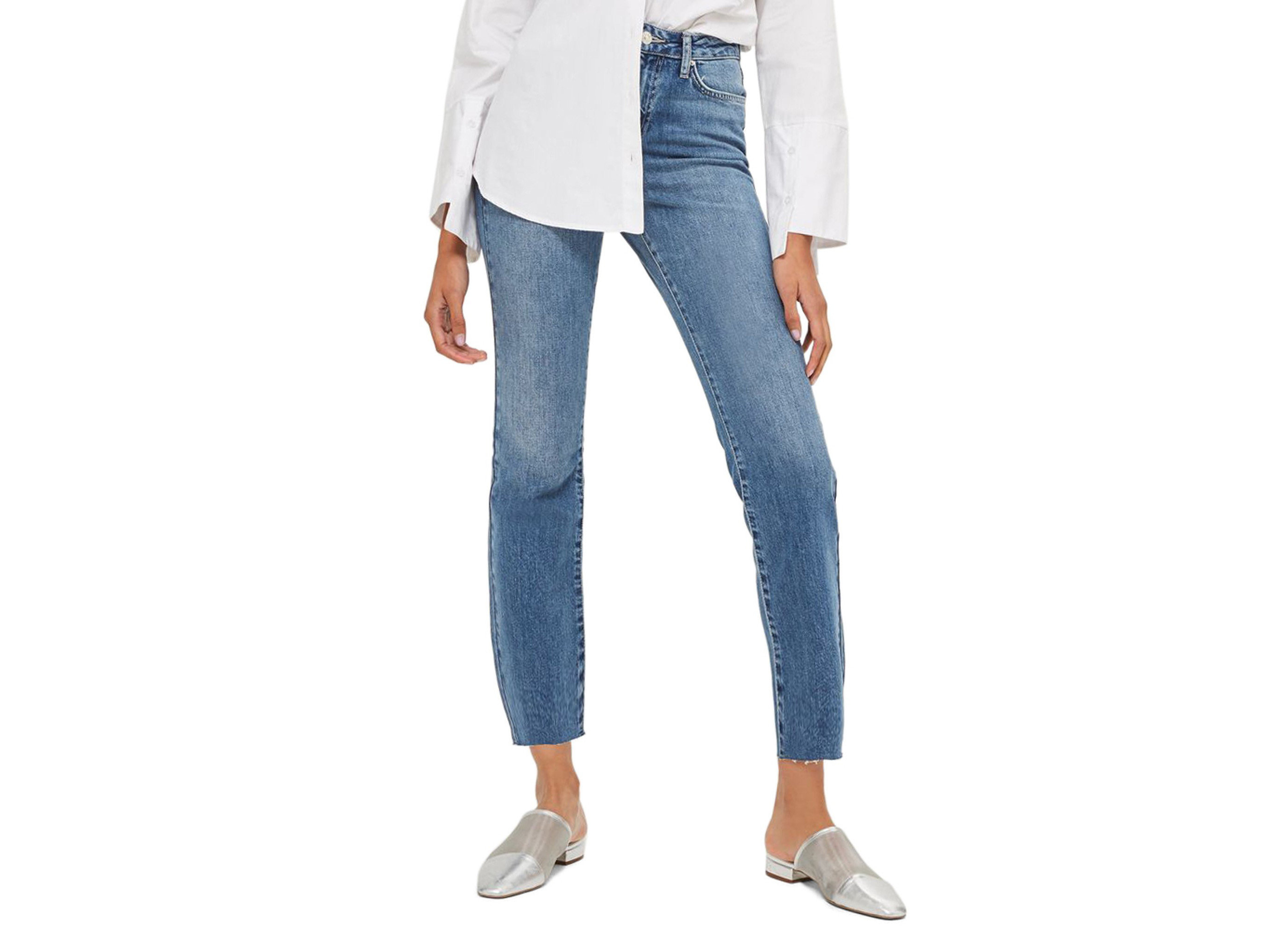 Style + Design clothing person jeans denim waist wearing joint trousers shoe trouser posing pocket electric blue