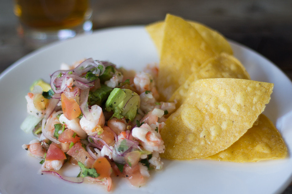 Food + Drink food plate dish cuisine ceviche produce white meal Seafood breakfast salad snack food