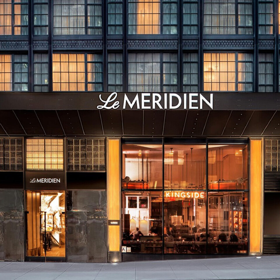 Exterior of Le Meridien in New York City