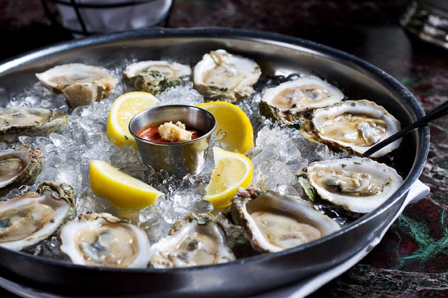 Dining Drink Eat Trip Ideas food dish indoor Seafood oyster mussel clam cuisine fish invertebrate animal source foods clams oysters mussels and scallops cockle pan cooking