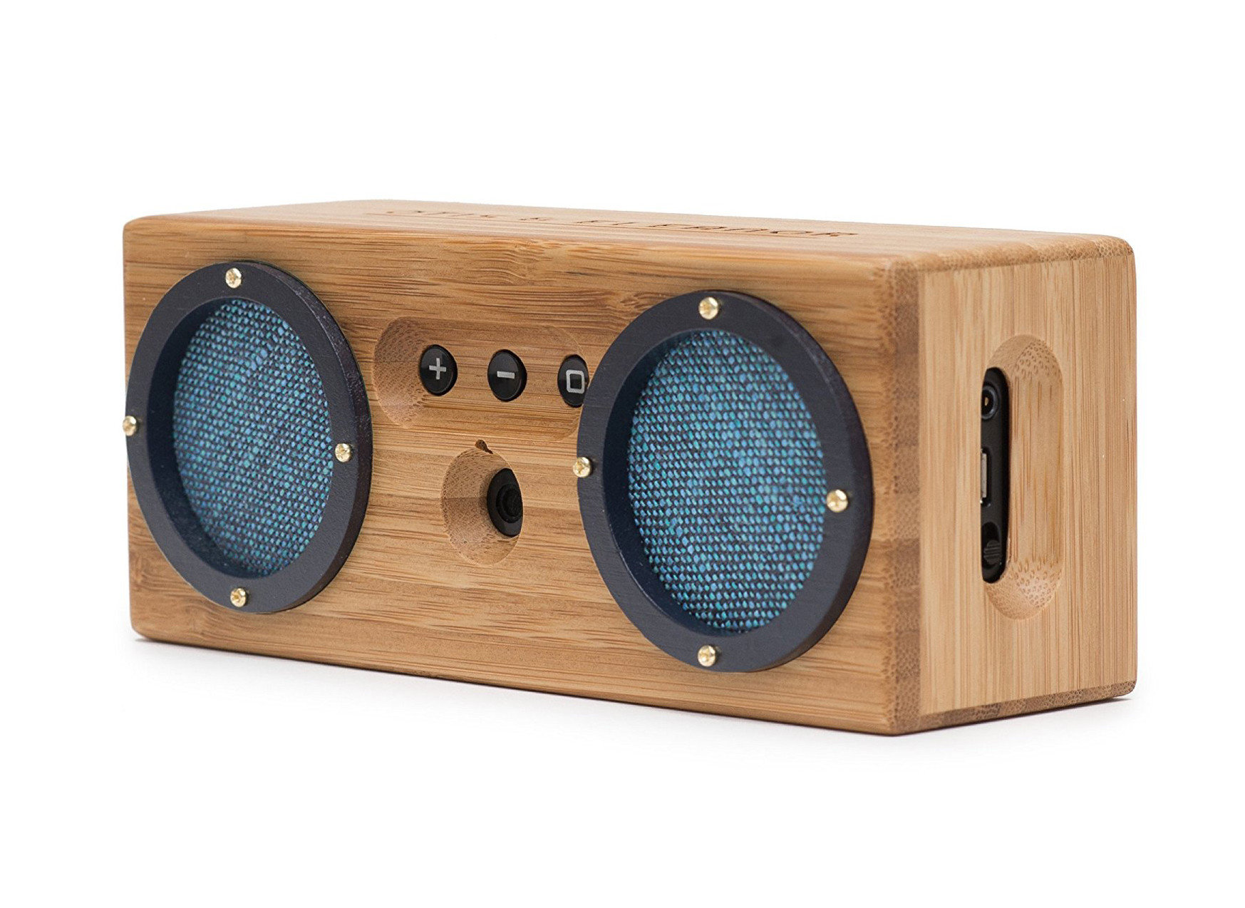 Gift Guides Travel Shop Travel Tech sound box wooden indoor audio equipment audio computer speaker wood loudspeaker electronic instrument product design technology radio sound speaker product subwoofer