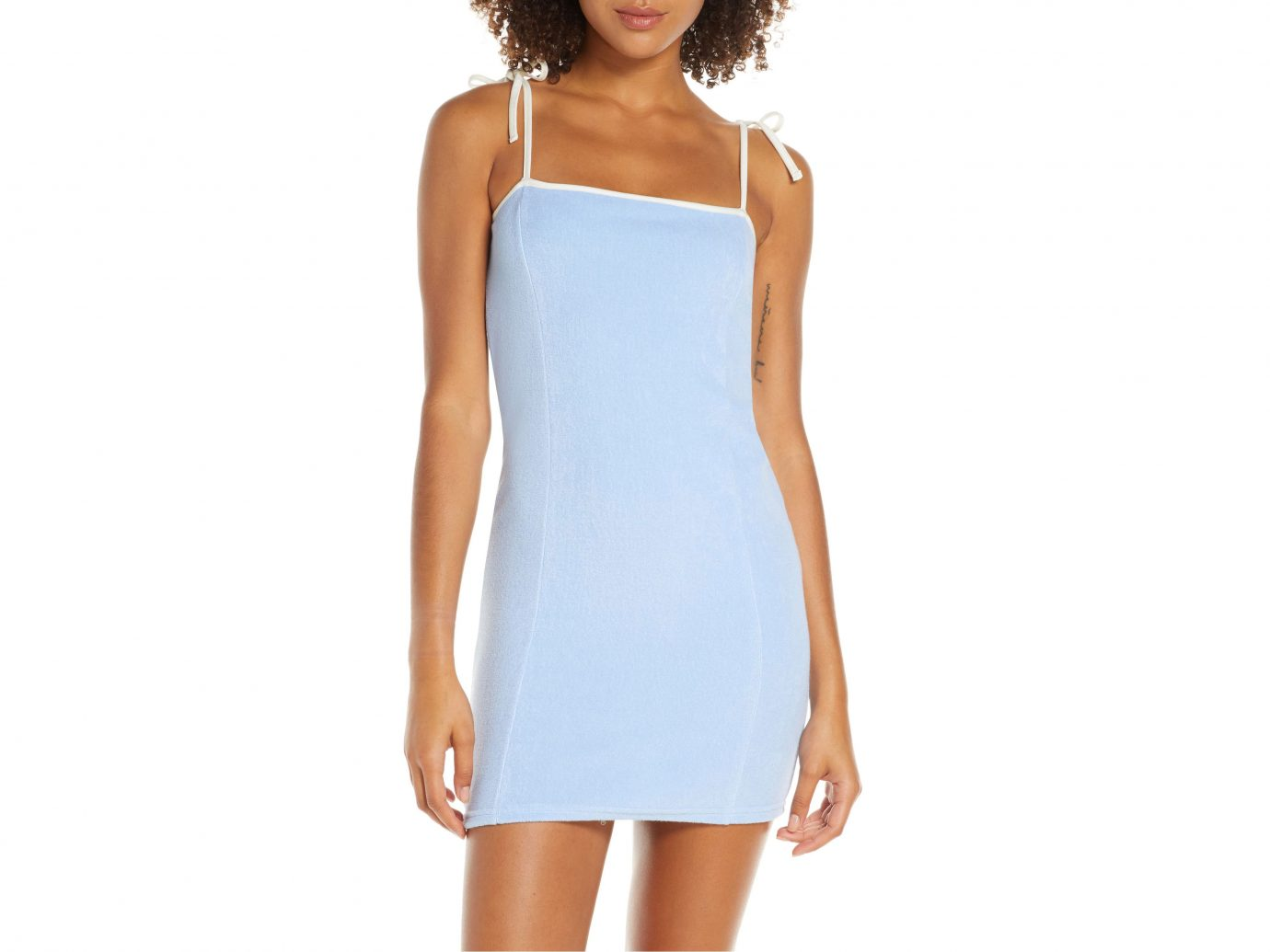 Solid & Striped Cover-Up Minidress