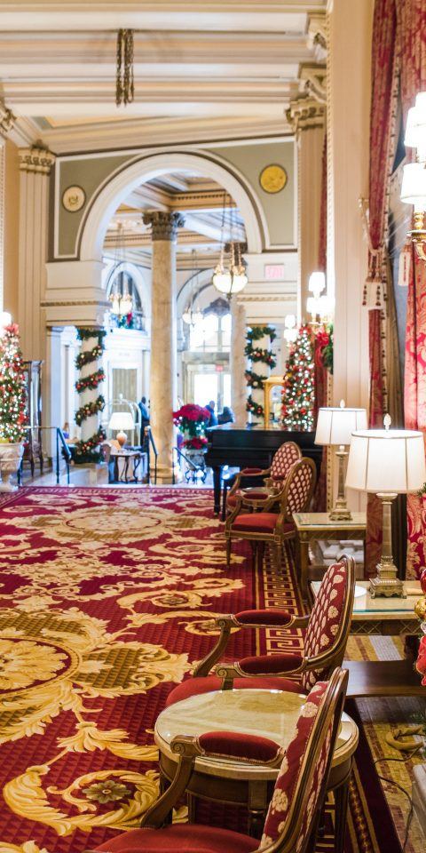 Hotels furniture indoor rug Christmas christmas decoration home Christmas tree interior design estate decorated