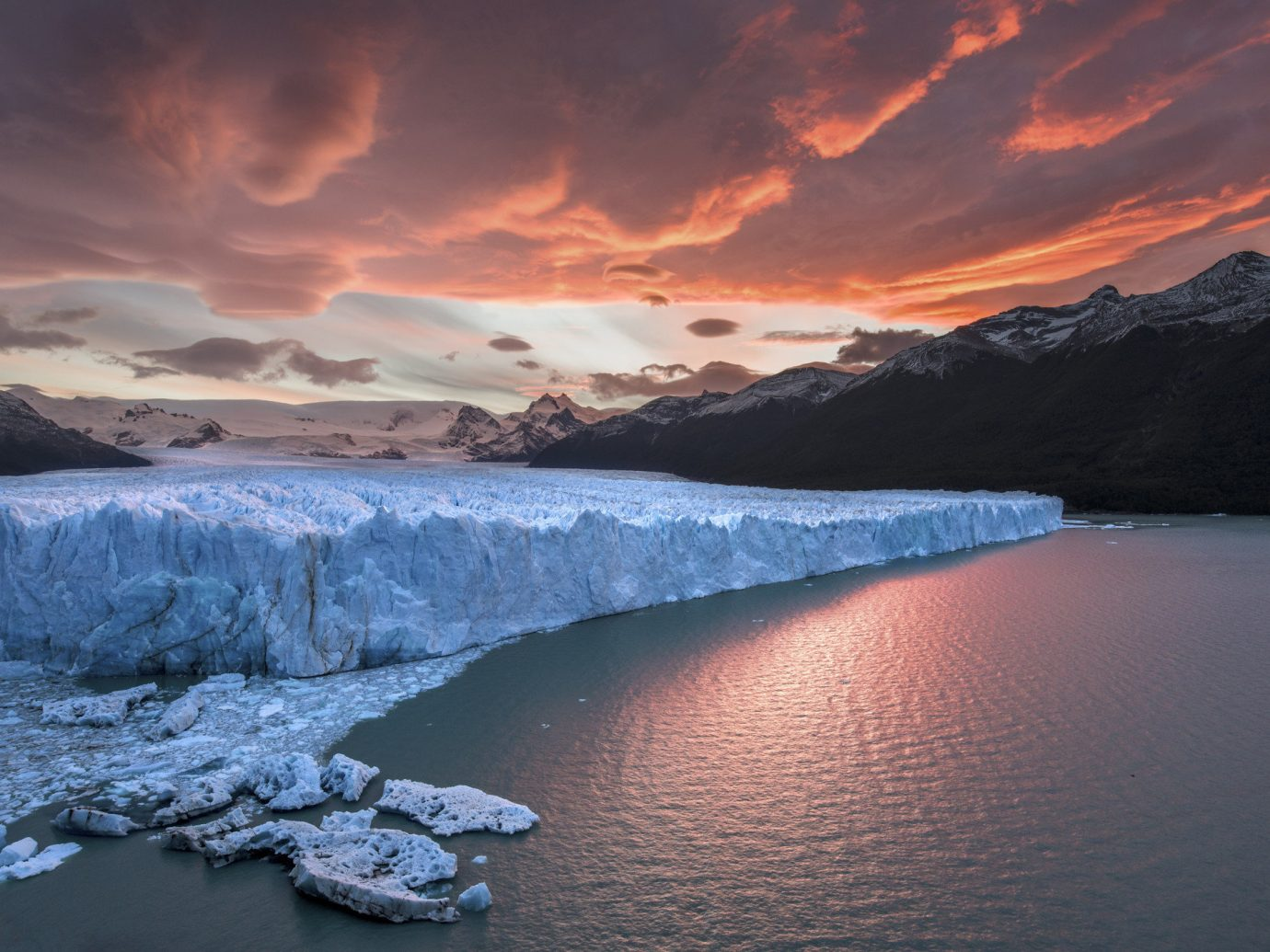 Trip Ideas sky mountain water outdoor Nature body of water Lake loch cloud reflection valley Sea canyon dawn morning sunrise Sunset Coast landscape fjord dusk reservoir mountain range bay glacial landform arctic overlooking rock Island