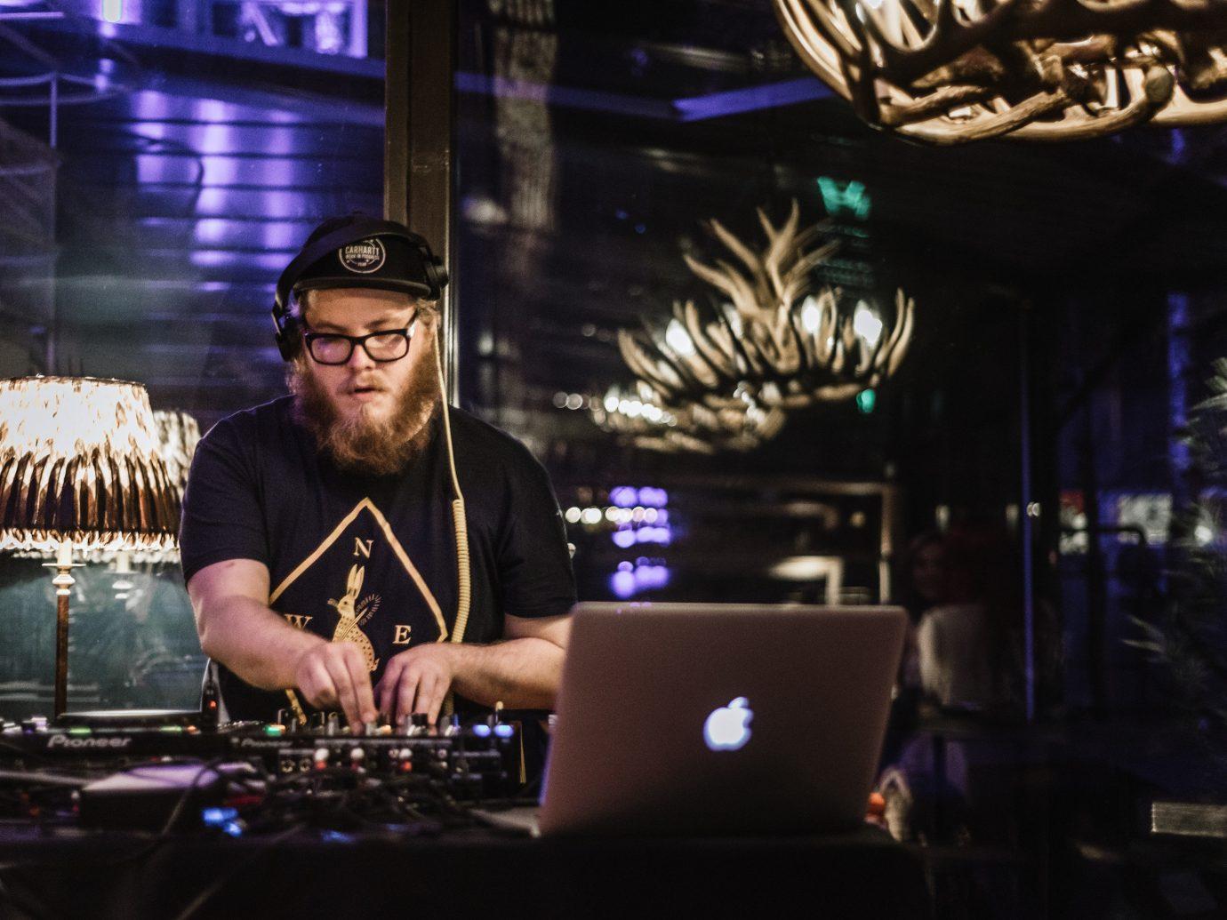 Trip Ideas person indoor laptop performance musician Music disc jockey Entertainment stage concert nightclub drummer