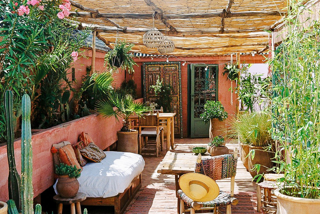 Boutique Hotels Hotels property home plant outdoor structure real estate backyard Courtyard Patio Garden interior design furniture house estate hacienda flower yard decorated arranged several