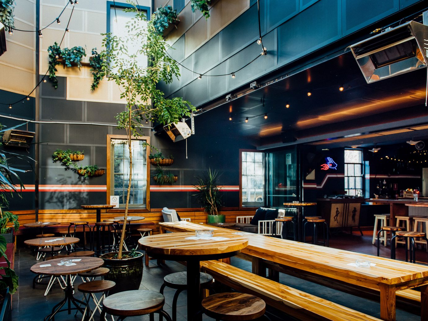 Budget table indoor room restaurant interior design Bar estate Design