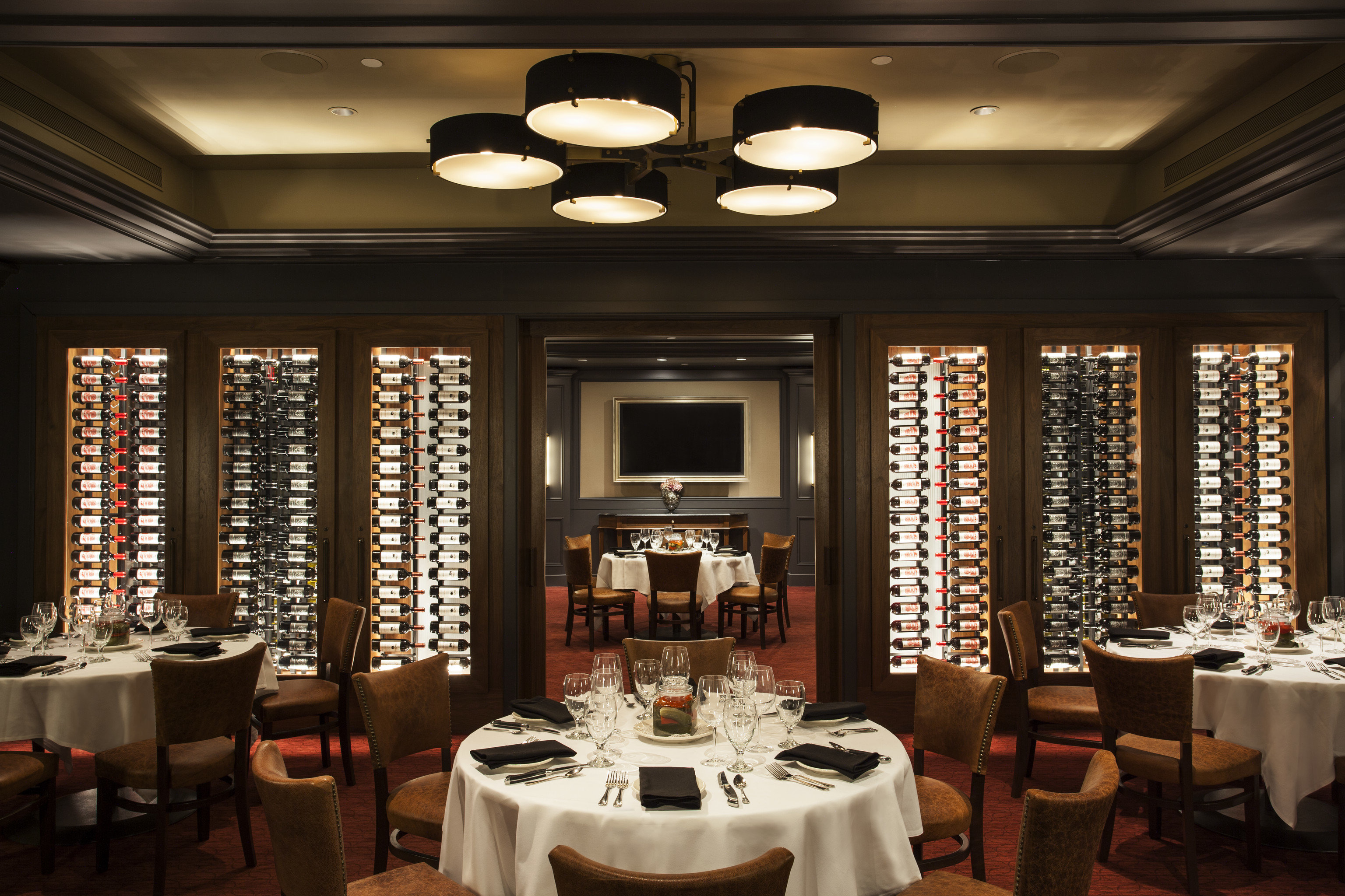 Hotels Romance indoor table ceiling restaurant window interior design function hall dining room hotel fancy set furniture Island several