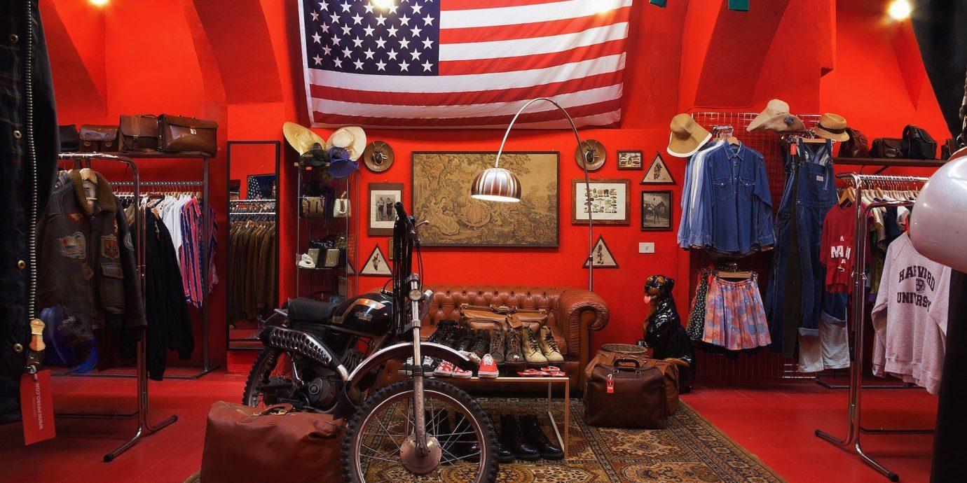 Trip Ideas floor indoor car motor vehicle room red motorcycle vehicle