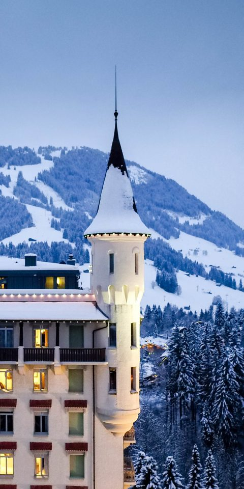 Health + Wellness Spa Retreats Trip Ideas outdoor snow Winter landmark building weather mountain range season mountain tower château alps monastery