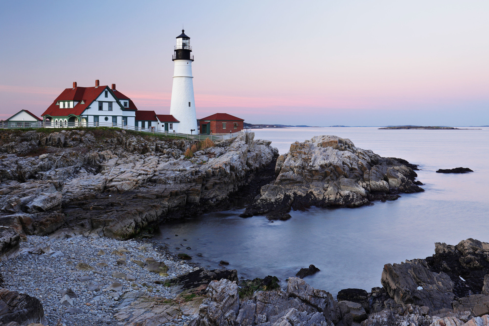 Trip Ideas outdoor sky water rock lighthouse tower Sea Coast shore rocky Ocean house Nature cove cape bay Beach promontory Island