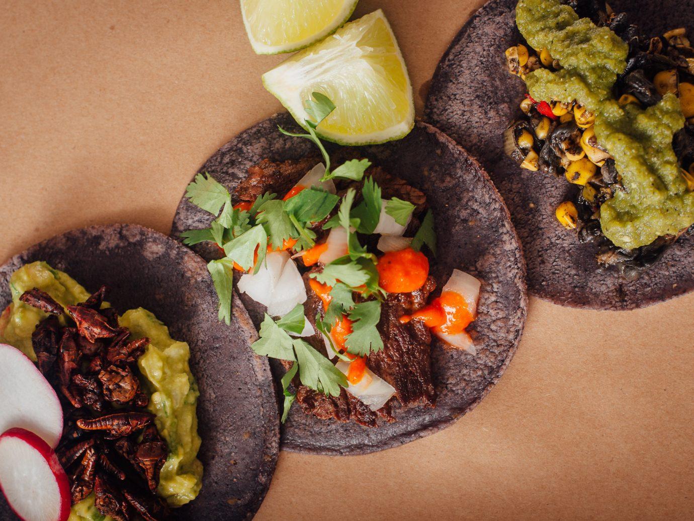 Travel Tips food dish cuisine meal vegetarian food recipe vegetable finger food toppings meat