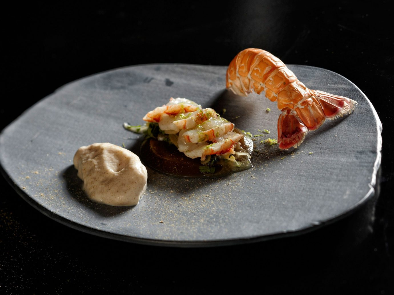 Food + Drink plate slice dish food piece produce cuisine fish meal Seafood breakfast dessert sliced eaten