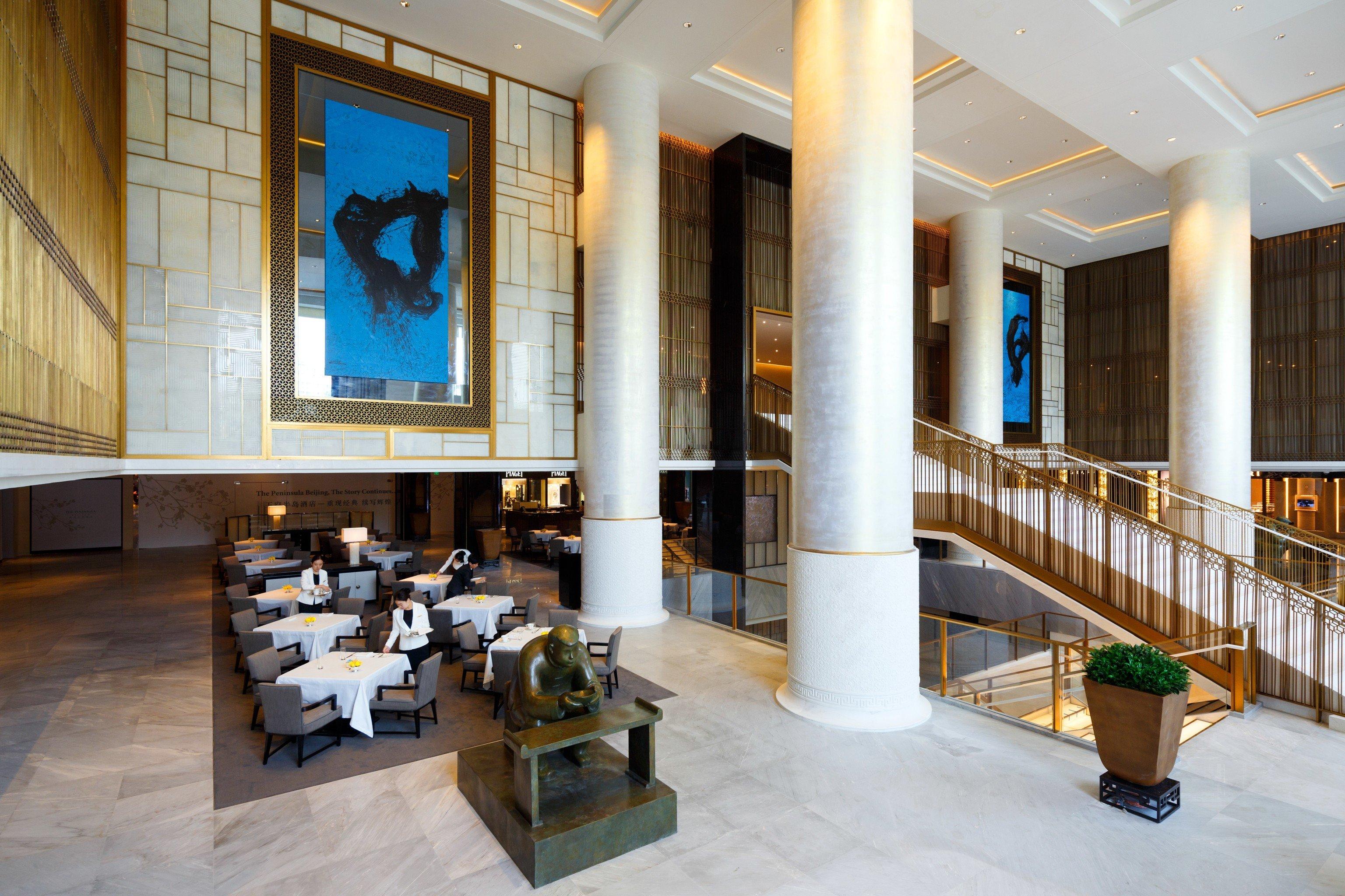 Hotels indoor floor Lobby property room estate Architecture home interior design real estate condominium Design living room mansion tourist attraction furniture area
