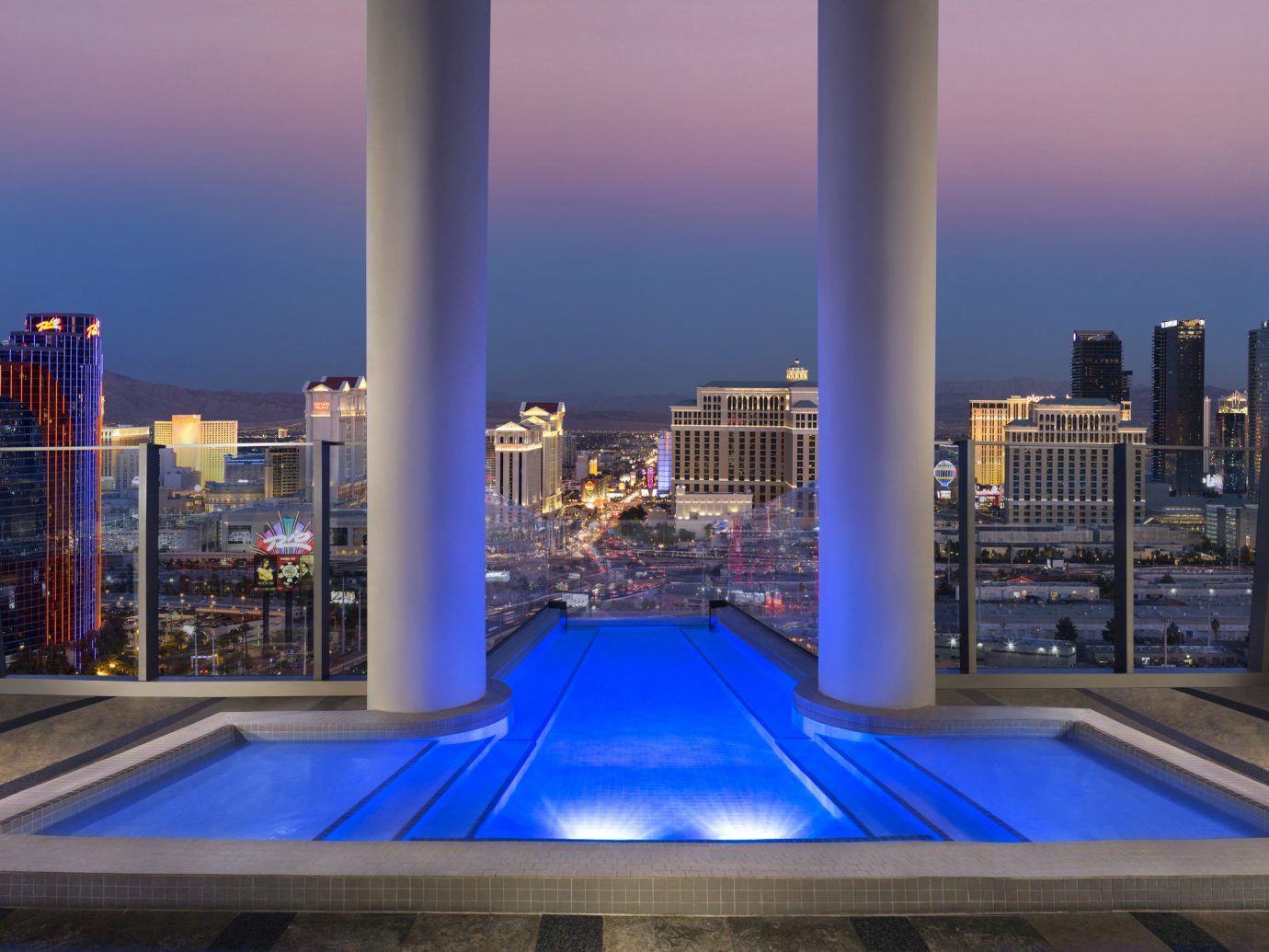 Pool in the Sky Villa, Palms Casino Resort in Las Vegas