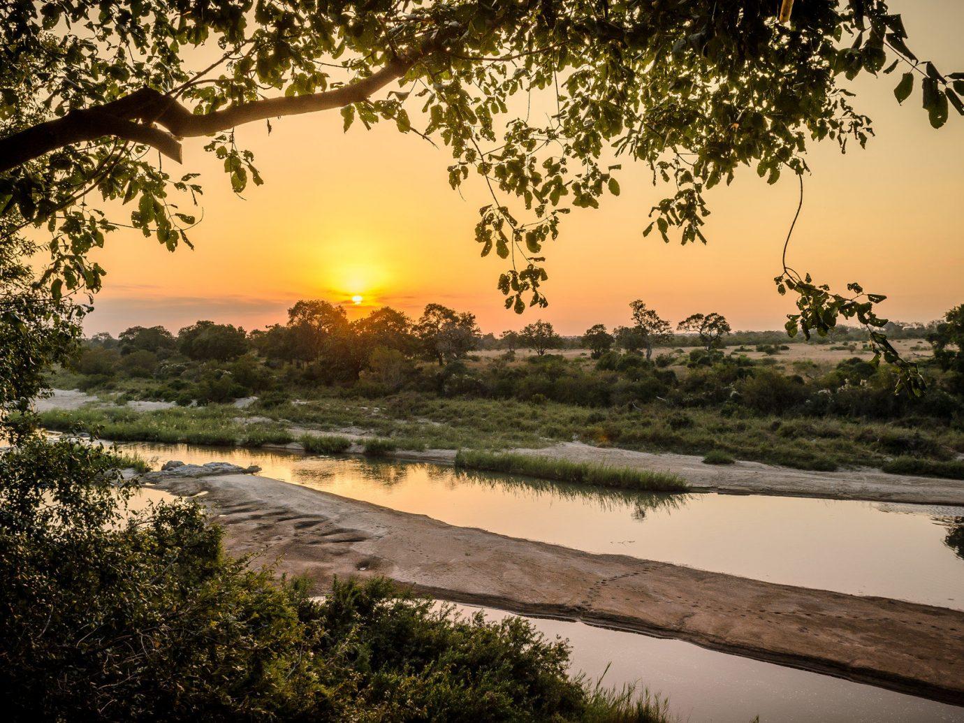 Sunset at African Safari