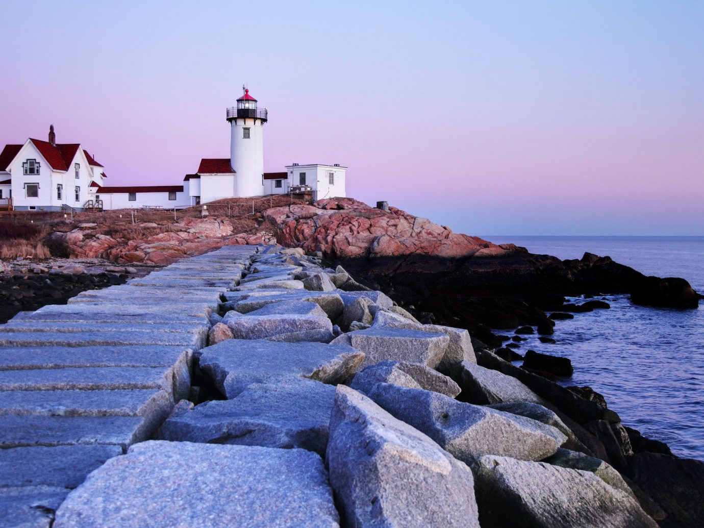 Trip Ideas outdoor sky rock water lighthouse Sea tower Coast rocky shore Ocean house Nature cape Beach cove stone