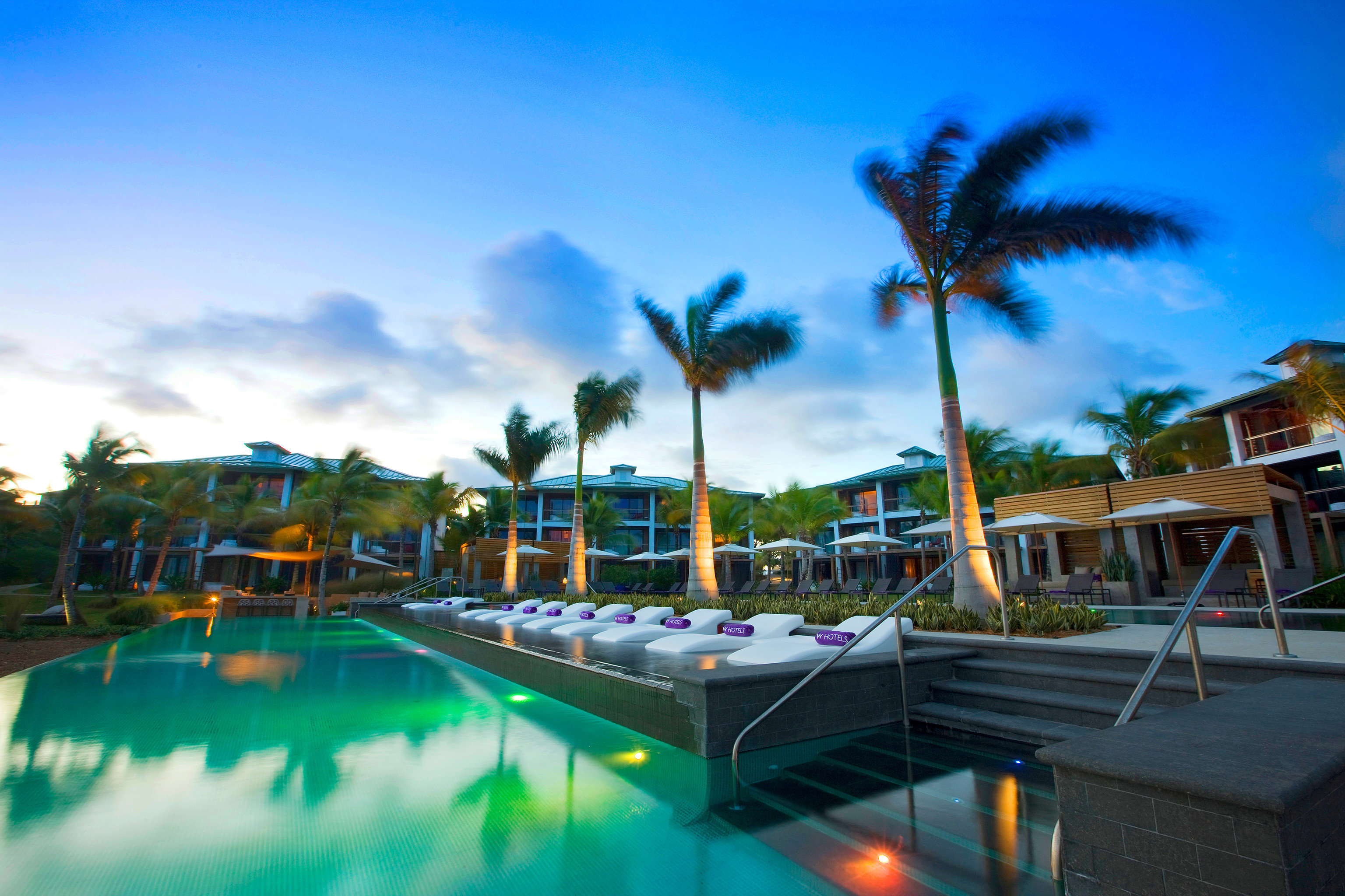 Exterior Hotels Nightlife Play Pool Resort sky outdoor leisure swimming pool vacation marina palm Water park estate Beach amusement park dock condominium park colorful lined