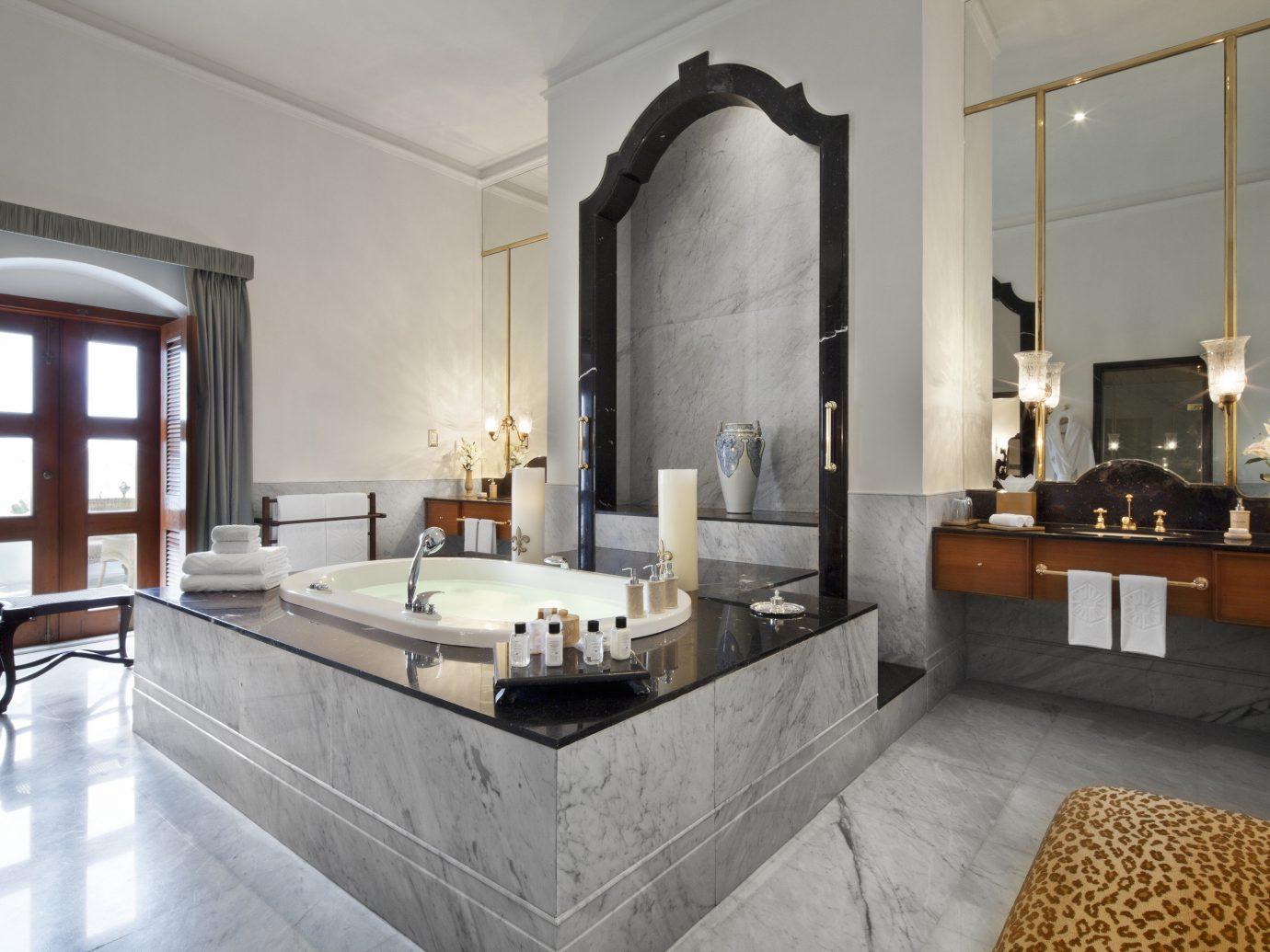 Hotels Luxury Travel indoor wall floor bathroom window room interior design sink estate Suite flooring interior designer
