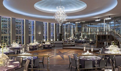 Jetsetter Guides indoor table ceiling window room function hall meal Lobby convention center ballroom dining room interior design Dining restaurant plaza estate several dining table
