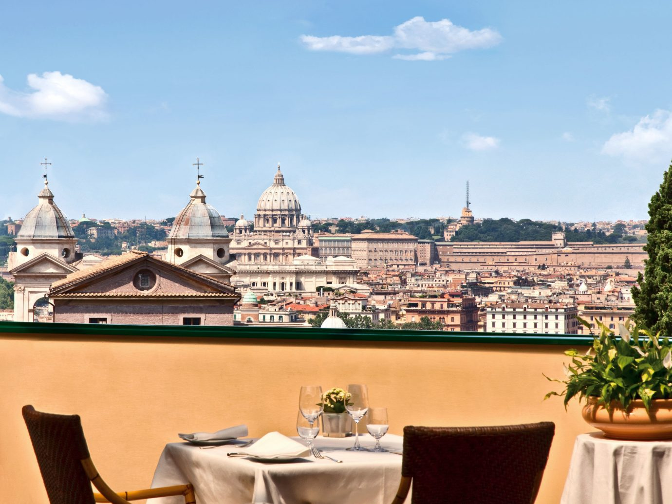 Architecture Boutique Hotels Buildings City Classic Dining Drink Eat Elegant Italy Luxury Luxury Travel Romance Romantic Romantic Hotels Rome Rooftop Scenic views palace tourism estate Resort